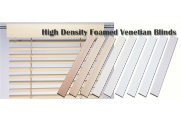 High Density Foamed Venetian Blinds