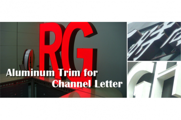 Aluminum Trim for Channel Letter