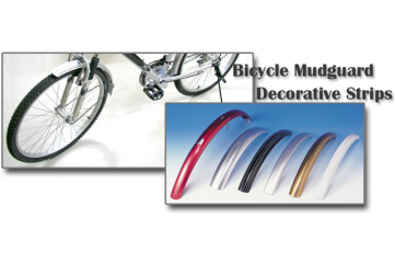 Bicycle Mudguard Decorative Strips